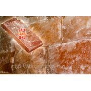Соляная плитка 200×100×25 одна сторона натуральная фото