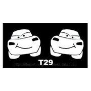 Трафарет для временных тату размер 16*9см(Т29) фото