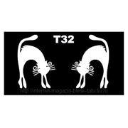 Трафарет для временных тату размер 16*9см(Т32) фото