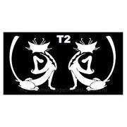 Трафарет для временных тату размер 16*9см(Т2) фото