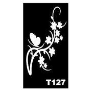 Трафарет для временных тату размер 16*9см(Т127) фото