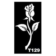 Трафарет для временных тату размер 16*9см(Т129) фото