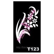 Трафарет для временных тату размер 16*9см(Т123) фото