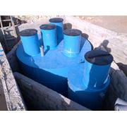 Станция биологической очистки сточных вод 20 куб.м/сут. Хозяйственно-бытовые стоки. фото