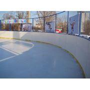 Коробка хоккейная стандартная стеклопластик 20х40 фото