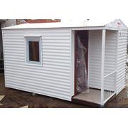 Домик для сада (вагончик бытовка) новый фото