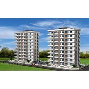 1+1 — комнатные квартиры, комплекс «Floria park» (Турция, Алания, Махмутлар) фото