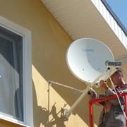Монтаж и настройка двустороннего спутникового интернета фото