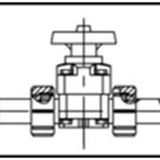 Мембранный клапан AGRU PP (полипропилен) d 20-63 мм фото