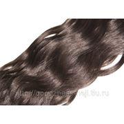 Волосы CNBH 100% натур. на ленте 04 шатен 60см. фото