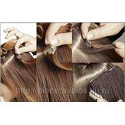 Натуральные славянские волосы на заколках набор 80 см фото