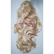 Искусственные волосы на заколках (термо) волнистые 55 см №613 фото