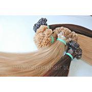 Волосы на капсулах 65см фото