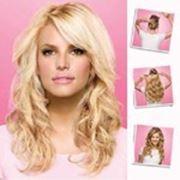 Славянские волосы на заколках 70 см Стандартный блонд фото