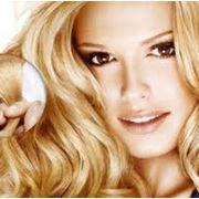 Азиатские волосы на заколках 60 см Стандартный блонд фото