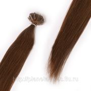 Европейские волосы на капсулах 45 см фото