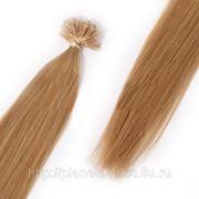 Европейские волосы на капсулах 60 см фото