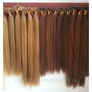 Славянские волосы на капсулах 55 см фото