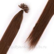Европейские волосы на капсулах 70 см фото