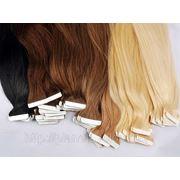 Славянские волосы. Ленточное наращивание 55 см фото