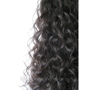 Славянские волнистые волосы на капсулах. Кучерявые фото