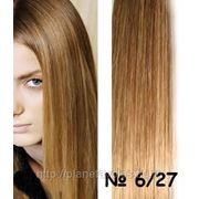 Мелированные-коричневый/темный блонд-оттенок 6/27 фото