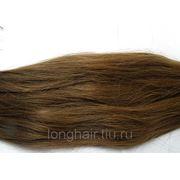 Южно-русские волосы для наращивания в срезе Цвет №6 80 см фото