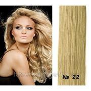 Натуральные волосы на заколках 40 см #22 фото