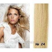 Натуральные волосы на заколках 40 см #24 фото