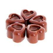 Кремовый воск Шоколадное сердце, большой фото