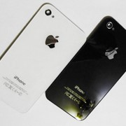 Заднее стекло для iPhone 4, 4s фото