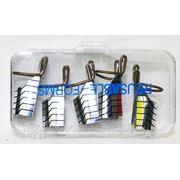 Формы для наращивания ногтей многоразовые Jess Nail 5 шт REF-5 фото