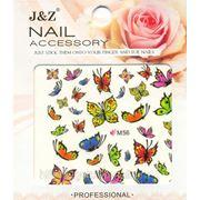 Наклейки для ногтей переводные Бабочки фото