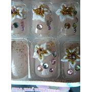 Ногти накладные N22 24 шт на клеевой основе фото