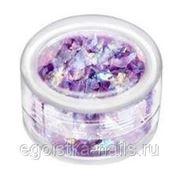 Слюда в банке Фиолетовая фото