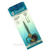 Zinger Ногтевые ножницы - CLASSIC 116-FD,S (серебро,матовые) фото