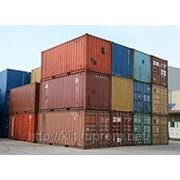 Морские контейнеры бывшие в употреблении фото