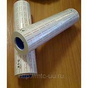 Этикет-лента 21,5-12 бело-красная фото