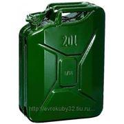 Канистра металлическая 20 литров (новая) фото