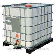 Полиэтиленовая емкость 1000 литров на поддоне (еврокуб) фото