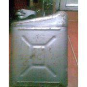 Канистра железная -10л.; 20л. (Пластик) ,б/у -продам фото