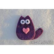 Магнит Влюбленный котик фото