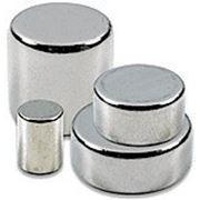 Неодимовый диск (стержень) 3х4 фото