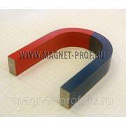Подковообразный магнит фото
