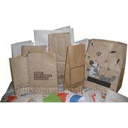 Пакеты бумажные на вынос фото