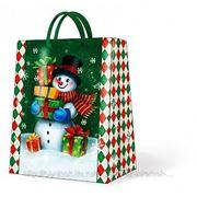 """Paw GALLANT SNOWMAN Пакет подарочный """"Снеговик"""", 26,3x33x13,5см фото"""