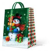 """Paw GALLANT SNOWMAN Пакет подарочный """"Снеговик"""", 30x41x12см"""