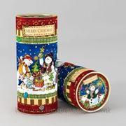 Снеговички, Тубус новогодний, 92х230, 500 гр, РАСПРОДАЖА!!! фото