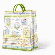 "Paw NEW BABY Пакет подарочный ""Детство"", 26,3x33x13,5см фото"