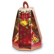 Сладкий новогодний подарок Колокольчик малиновый, 450 г фото